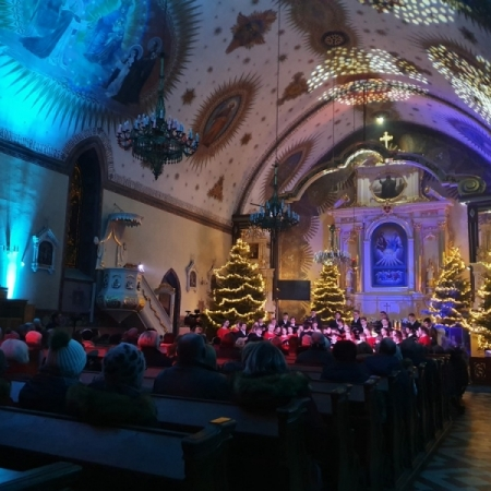 Koncert kolęd w parafii pw. Świętej Trójcy w Rypinie 29.12.2019