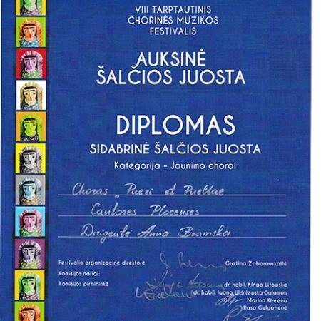 Dyplom Litwa 2021