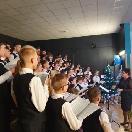 Koncert Kolęd w Szkole Podstawowej nr 3 14.12.2019